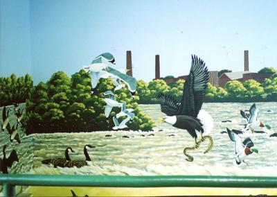 Connecticut River Mural, CMH