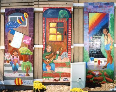 Doorways of Holyoke mural 7