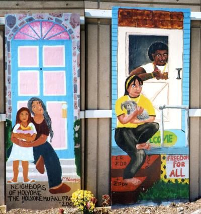 Doorways of Holyoke mural 8