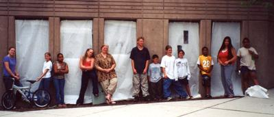 Doorways of Holyoke mural, unveiling